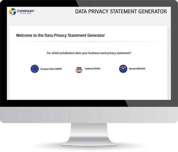 Data Privacy Statement Widget