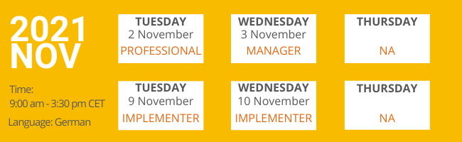 November 2021 Workshops