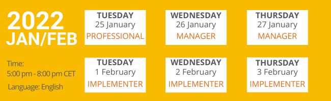 January 2022 Workshops
